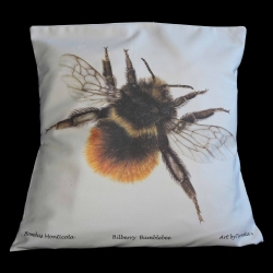 Bilberry-Bumblebee-Organic-Cotton-Cushion