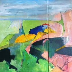 Border Highwayman 90x90cms resweb