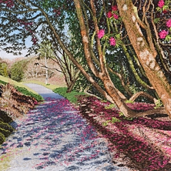 Alison Holt. In The Shadow Of Rhododendrons