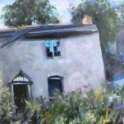 Mary Cunnah. Hafotty. Oil on canvas.