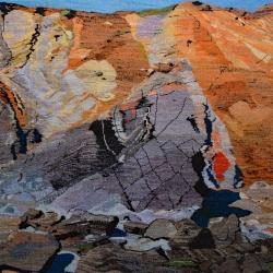Volcanic Marloes 100cm x 125cm smallweb