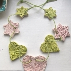 Sara Wood Ceramic Bunting