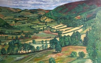Patrick-Owen-The-View-from-Penlan-Oil-on-Linen-102-x-76-cm